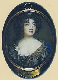 Miniature portrait of Lucy Walter, owned by her descendant the Duke of Buccleuch