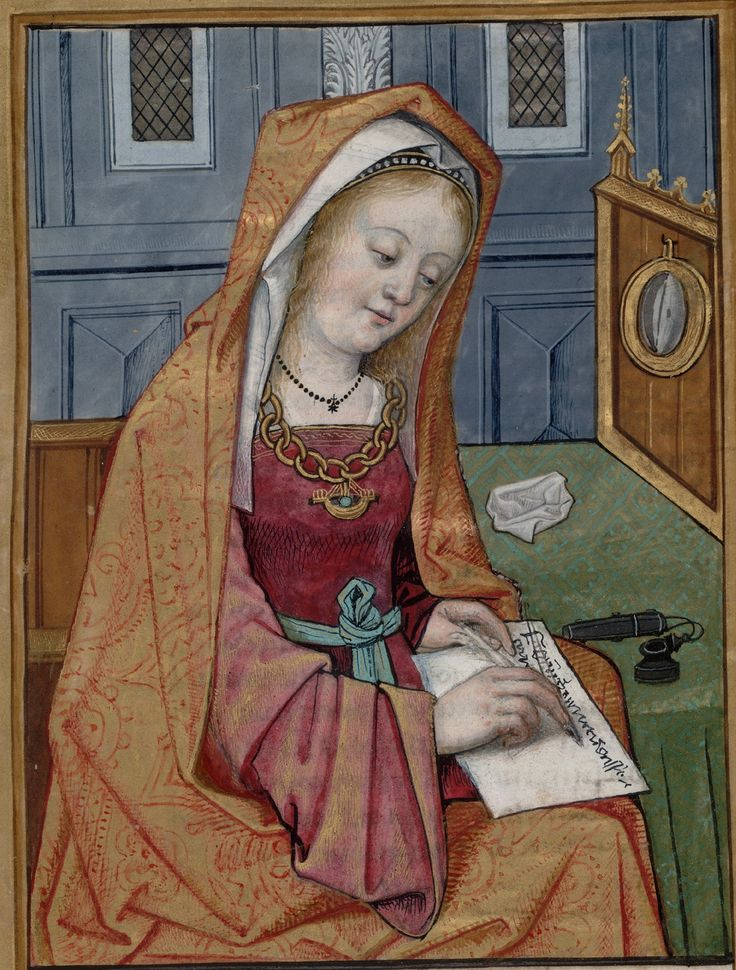 Image from Huntington Library Ms HM 60, f°7
