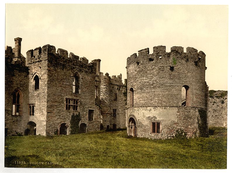 Ruins of Ludlow Castle