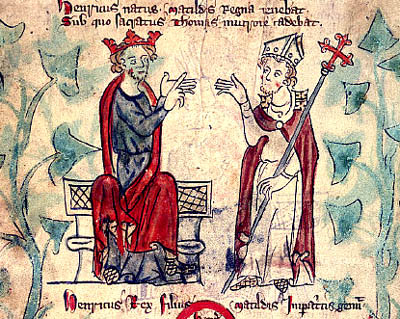thomas becket and henry ii relationship advice