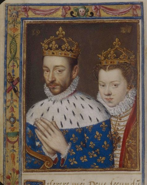 Charles IX and Elisabeth of Austria