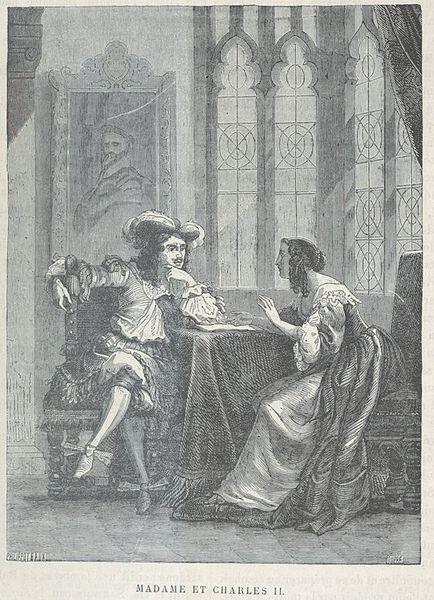 Henriette_d'Angleterre_negociant_avec_son_frère_Charles_II_en_1670
