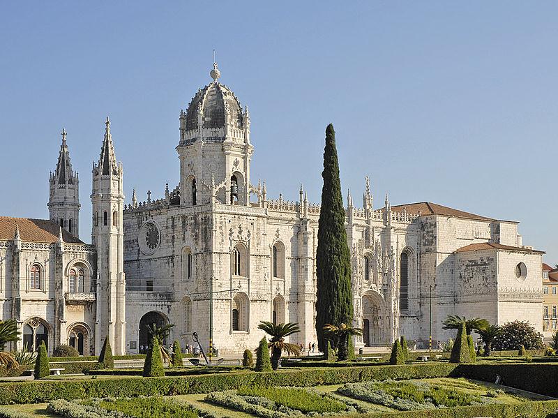 Léglise_Sainte-Marie_et_le_monastère_des_Hiéronymites_(Lisbonne)_(1454116766)
