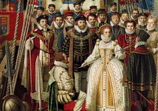 Elizabeth and Sir Francis Drake